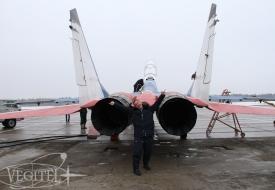 Слабый пол, говорите? | Полеты на истребителе МиГ-29 в стратосферу