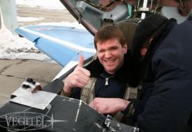 Атлант в стратосфере | Полеты на истребителе МиГ-29 в стратосферу