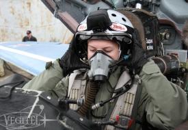 Полет на МиГ-29: «самый лучший подарок» | Полеты на истребителе МиГ-29 в стратосферу