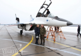 Полеты в весеннем небе | Полеты на истребителе МиГ-29 в стратосферу
