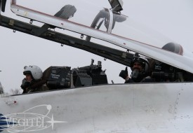 Мексиканский пилот в стратосфере | Полеты на истребителе МиГ-29 в стратосферу