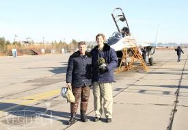Осенние полеты на МиГ-29 | Полеты на истребителе МиГ-29 в стратосферу