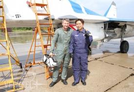 Самурай в стратосфере | Полеты на истребителе МиГ-29 в стратосферу