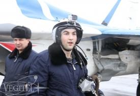 Семейный тур в стратосферу | Полеты на истребителе МиГ-29 в стратосферу
