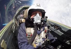 Сергей Иванович Кара | Полеты на истребителе МиГ-29 в стратосферу