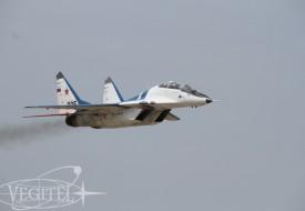 В стратосферу по пути восходящего солнца | Полеты на истребителе МиГ-29 в стратосферу