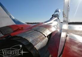 Ясное зимнее небо | Полеты на истребителе МиГ-29 в стратосферу
