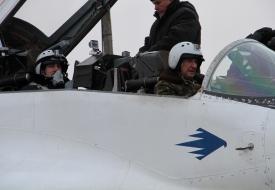 Юрий Евгеньевич Поляков | Полеты на истребителе МиГ-29 в стратосферу