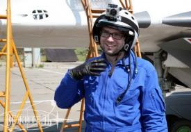 Жаркая пора полетов | Полеты на истребителе МиГ-29 в стратосферу