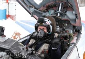 День Влюбленных в стратосфере | Полеты на истребителе МиГ-29 в стратосферу