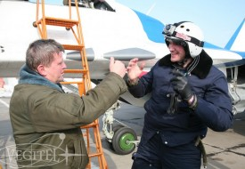 Атлант в стратосфере   Полеты на истребителе МиГ-29 в стратосферу