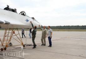 Август – пора полетов!   Полеты на истребителе МиГ-29 в стратосферу