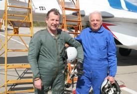 Авиации все возрасты покорны | Полеты на истребителе МиГ-29 в стратосферу