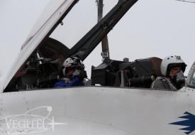 Ближе к космосу в преддверии Дня Космонавтики   Полеты на истребителе МиГ-29 в стратосферу