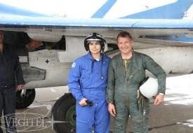 Летняя стратосфера | Полеты на истребителе МиГ-29 в стратосферу