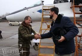 Мексиканский пилот в стратосфере   Полеты на истребителе МиГ-29 в стратосферу