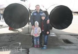 Мой папа – герой! | Полеты на истребителе МиГ-29 в стратосферу