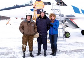 Открыт сезон-2013!   Полеты на истребителе МиГ-29 в стратосферу