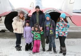 Семейная эскадрилья   Полеты на истребителе МиГ-29 в стратосферу