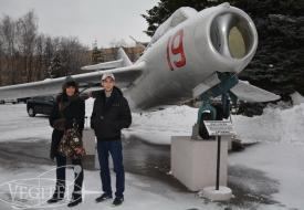 Семейный тур в стратосферу   Полеты на истребителе МиГ-29 в стратосферу
