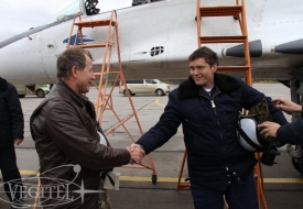 Подводя итоги сентября   Полеты на истребителе МиГ-29 в стратосферу