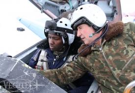 Сезон 2017 открыт!   Полеты на истребителе МиГ-29 в стратосферу