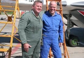 Удача сопутствует смелым   Полеты на истребителе МиГ-29 в стратосферу
