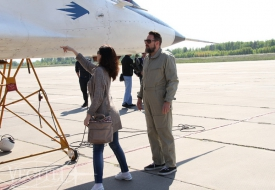 Вслед за Парадом Победы   Полеты на истребителе МиГ-29 в стратосферу