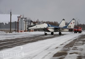 Зимний сезон открыт!   Полеты на истребителе МиГ-29 в стратосферу